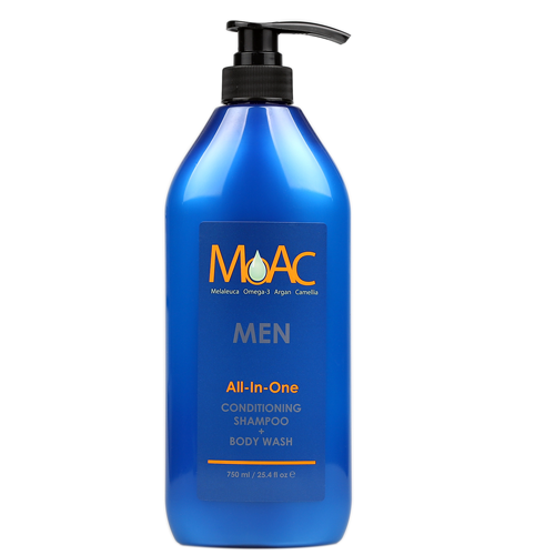 MOAC MEN All-In-One Conditioning Shampoo + Body Wash